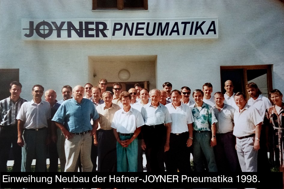 Opening of the Hafner-Joyner building