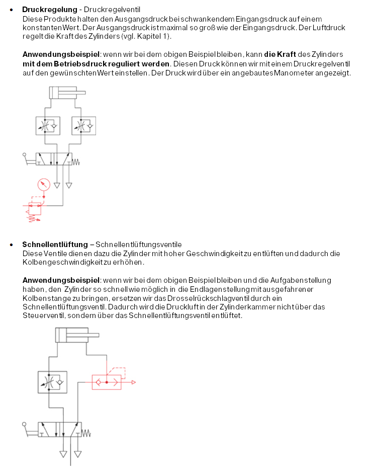 Grouping and construction of control valves